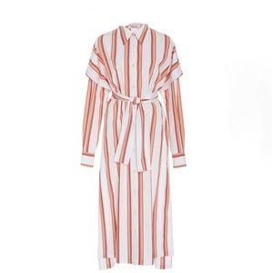 Diane Von Furstenberg Collared Shirt Dress